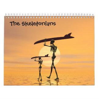 El calendario de Skeletonians