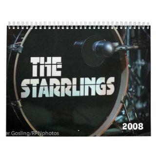 El calendario de Starrlings 2008