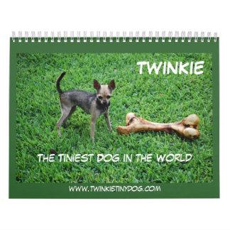 El calendario de Twinkie 2010