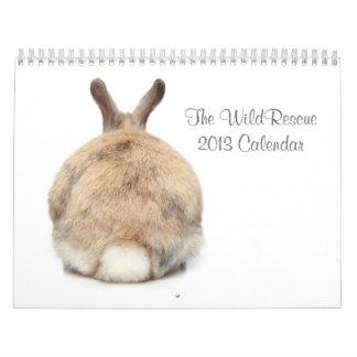 ¡El calendario de WildRescue 2013!
