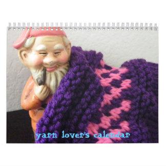 El calendario del amante del hilado