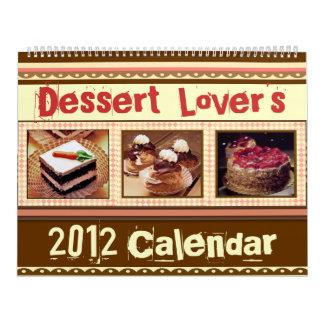El calendario del amante del postre (2012 o person