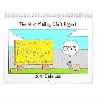 El calendario del centro comercial 2010