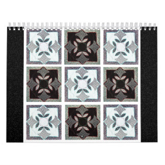 El calendario del edredón de 2011 Digitaces en