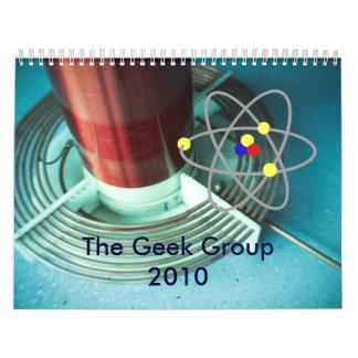 El calendario del grupo del friki