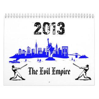 El calendario del imperio malvado 2013