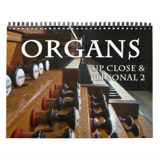 El calendario del órgano para arriba cierra #2