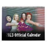 El calendario del personalizado del funcionario 20