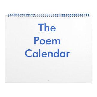 El calendario del poema