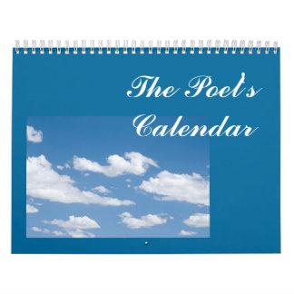 El calendario del poeta para 2015