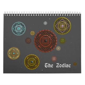 El calendario del zodiaco