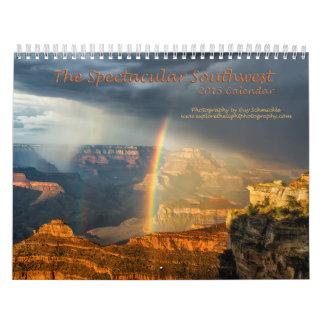 El calendario espectacular del sudoeste 2015