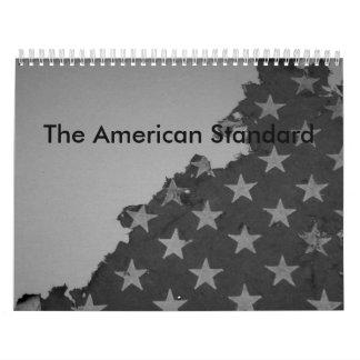 El calendario estándar americano