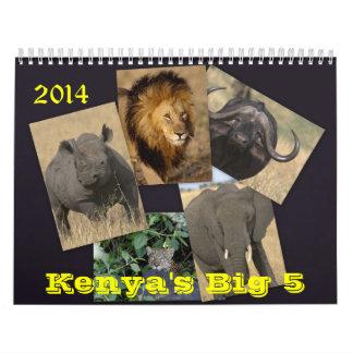 El calendario grande 5 de Kenia