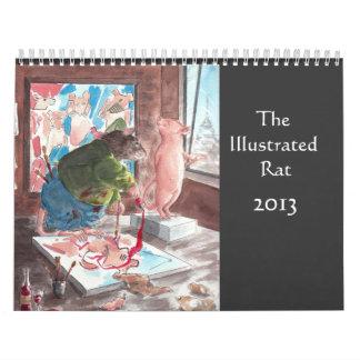 El calendario ilustrado de la rata 2013