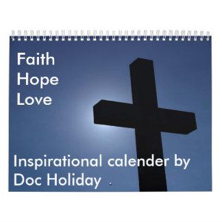 El calendario inspirado del doc.