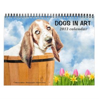 El calendario más lindo del perro de 2013 mundos