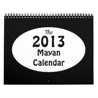 El calendario maya 2013