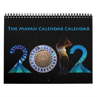 El calendario maya del calendario del funcionario