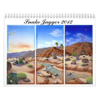 El calendario oficial de Jagger 2012 de la serpien