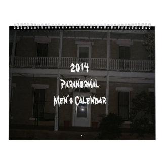 El calendario paranormal de 2014 hombres