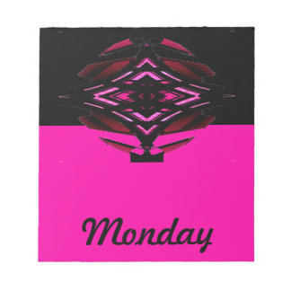 El calendario visual equipa el día de la nota de l bloc de papel