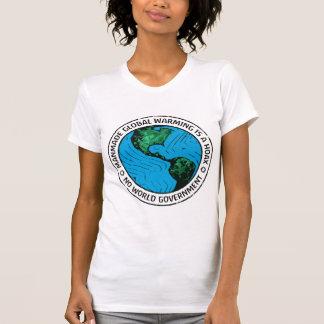El calentamiento del planeta artificial es broma tshirt