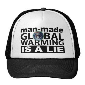 El calentamiento del planeta artificial es una men gorras
