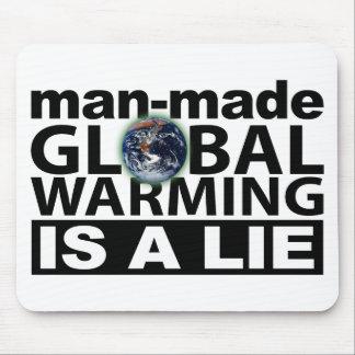 El calentamiento del planeta artificial es una men alfombrilla de ratones