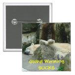 El calentamiento del planeta CHUPA el Pin del oso
