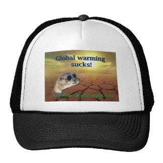 El calentamiento del planeta chupa gorras de camionero