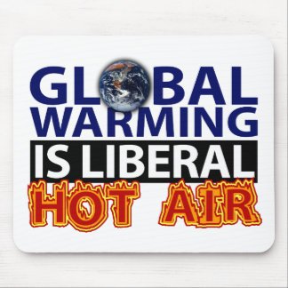 El calentamiento del planeta es aire caliente libe tapete de raton