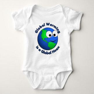 El calentamiento del planeta es broma global body para bebé
