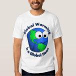El calentamiento del planeta es broma global poleras