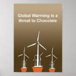 El calentamiento del planeta es una amenaza para e posters