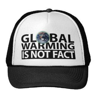 El calentamiento del planeta no es hecho gorros