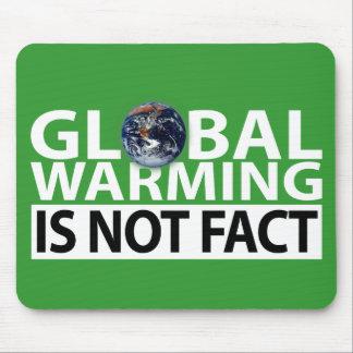 El calentamiento del planeta no es hecho mousepad