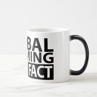 El calentamiento del planeta no es hecho tazas de café