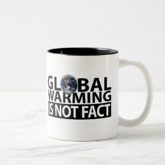 El calentamiento del planeta no es hecho taza de café