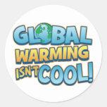 El calentamiento del planeta no es pegatina fresco