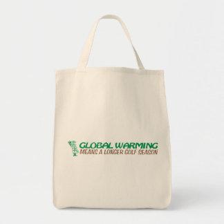 El calentamiento del planeta significa una bolsa de mano