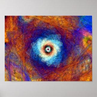 """El callejón 12"""" de la eternidad x 9"""" impresión del póster"""
