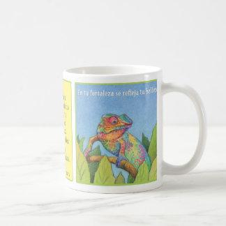 El Camaleón, taza de café Coffee Mug