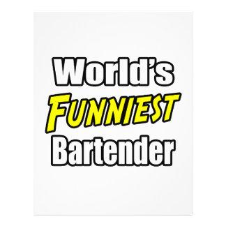 El camarero más divertido del mundo tarjeton