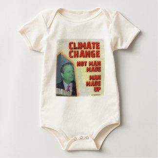 El cambio de clima es hombre compuesto mamelucos de bebé