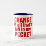 El cambio es todo que se deja en mi antiobama del  taza