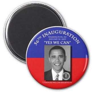 El cambio inaugural 2009 de Barack Obama podemos Imán Redondo 5 Cm