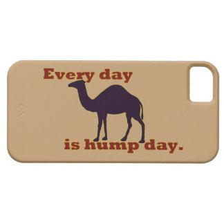 El camello cada día es día de chepa iPhone 5 cárcasa