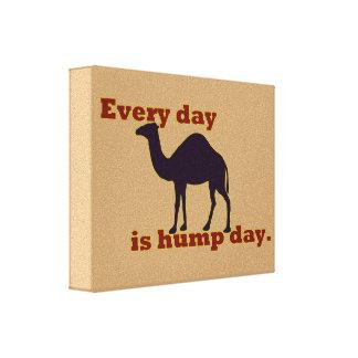 """El camello """"cada día es día de chepa """" impresión en lienzo estirada"""