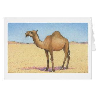 El camello greeting card